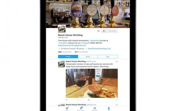 Social Media Marketing for The Beach House Worthing