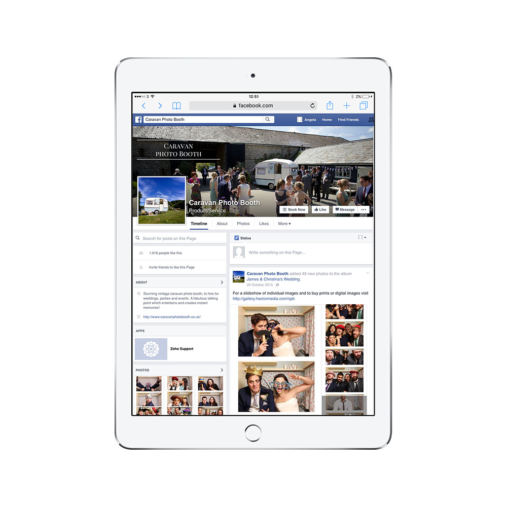 Facebook Social Media Management Sussex